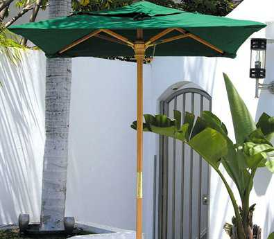 Dayva Huntington 4' Square Umbrella DVUK104