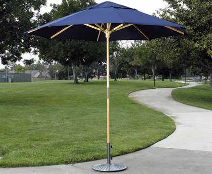 Dayva Catalina Wood 9' Octagon Single Pole Umbrella