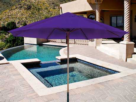 Dayva LaQuinta 9' Octagon Wood Pulley Umbrella