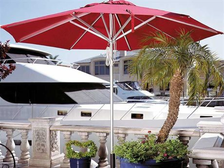 Dayva Del Rey 11' Octagon Aluminum Pulley Umbrella