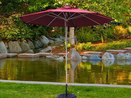 Dayva Oceanside 11' Octagon Stainless Steel Pulley Umbrella