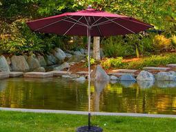 Stainless Steel Market Umbrellas
