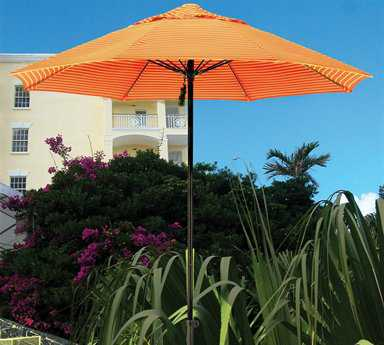 Dayva Santa Monica 9' Octagon Aluminum Umbrella