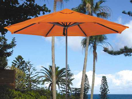 Dayva Del Rey 9' Octagon Aluminum Pulley Umbrella in Bronze Finish