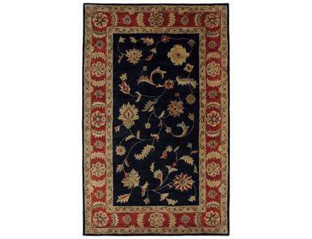 Dynamic Rugs Charisma Rectangular Black & Red Area Rug