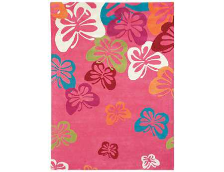 Dynamic Rugs Fantasia Rectangular Light Pink Area Rug