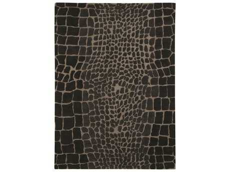 Dynamic Rugs Allure Rectangular Gray Area Rug