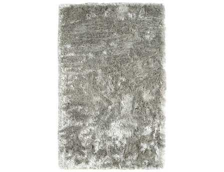 Dynamic Rugs Paradise Rectangular Silver Area Rug