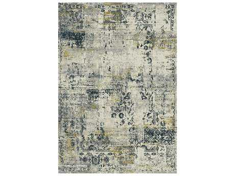 Dynamic Rug Quartz Light Grey Rectangular Area Rug