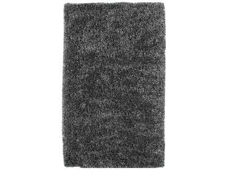 Dynamic Rugs Venetian Rectangular Charcoal Area Rug