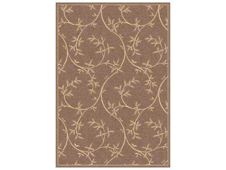 Dynamic Rugs Piazza Rectangular Brown Area Rug