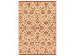 Dynamic Rugs Piazza Rectangular Natural Red Area Rug