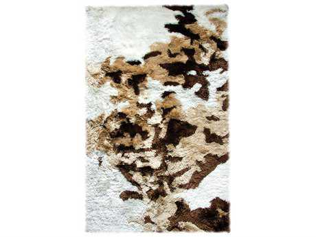 Dynamic Rugs Loft Rectangular Ivory , Beige & Brown Area Rug