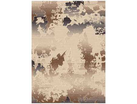 Dynamic Rugs Treasure Rectangular Cream Area Rug
