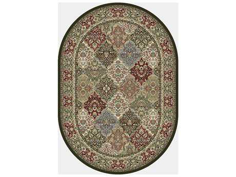 Dynamic Rug Ancient Garden Rectangular Area Rug