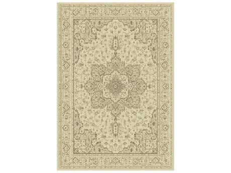 Dynamic Rugs Imperial Rectangular Cream Area Rug