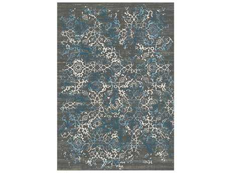 Dynamic Rug Kingston Dark Grey Rectangular Area Rug