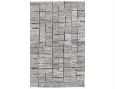 Dynamic Rugs Posh Rectangular Gray Area Rug