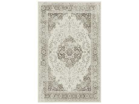 Dynamic Rug Utopia Cream / Gray Rectangular Area Rug
