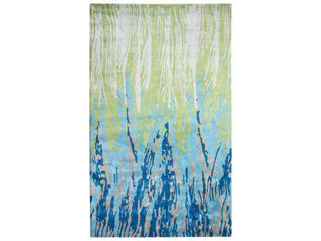 Dynamic Rugs Vogue Rectangular Blue & Green Area Rug