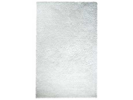 Dynamic Rugs Forte Rectangular White Area Rug