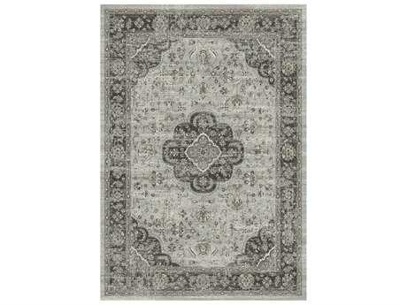 Dynamic Rugs Regal Rectangular Light Grey Area Rug