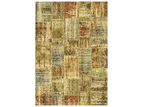 Dynamic Rugs Heritage Rectangular Color Area Rug