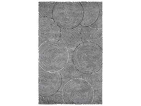 Dynamic Rugs Celeste Rectangular Ivory & Carbon Area Rug
