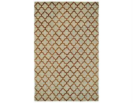 Dynamic Rugs Broadway Rectangular Gold Area Rug