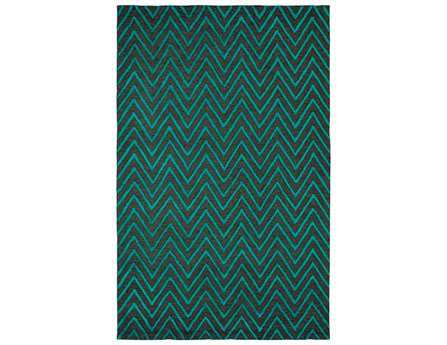 Dynamic Rugs Broadway Rectangular Jade Area Rug