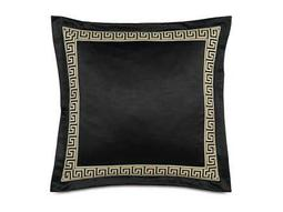Eastern Accents Abernathy Witcoff Black With Border Pillow