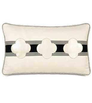 Eastern Accents Abernathy Klein Shell Clovers Pillow