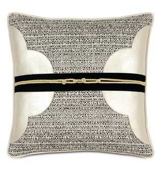 Eastern Accents Abernathy Deconstructed Quatrefoil Pillow