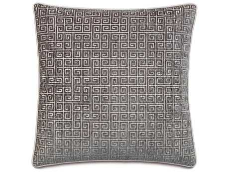 Eastern Accents Amal Murano Taupe with Small Welt Accent Pillow