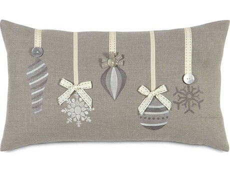 Eastern Accents Holiday Studio 773 Christmas ''Glistening'' Ornaments Decorative Pillow