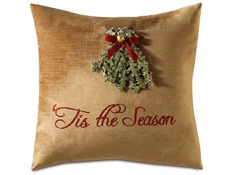 Eastern Accents Holiday Studio 773 Christmas ''Merry Mistletoe'' Decorative Pillow