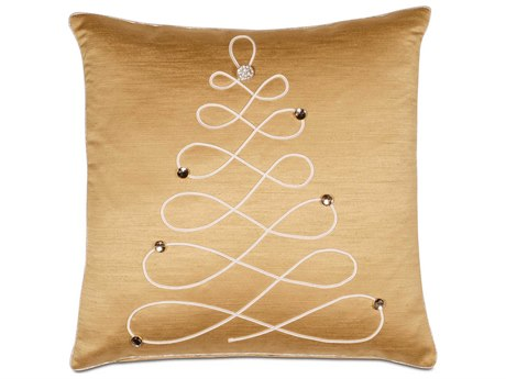 Eastern Accents Holiday Studio 773 Christmas ''Glitzy Tree'' Decorative Pillow