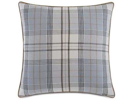 Eastern Accents Arthur Magnus Steel 27'' x 27'' Decorative Pillow with Small Welt