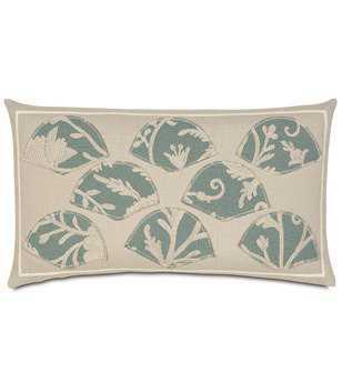 Eastern Accents Avila Applique Pillow