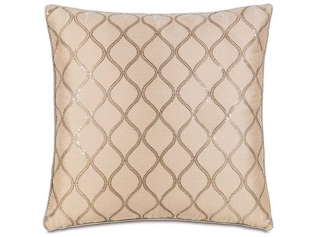 Eastern Accents Bardot Bisque With Cord Extra Euro Sham