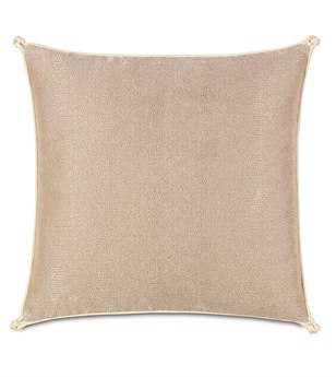 Eastern Accents Bardot Dunaway Fawn With Turkish Knots Pillow