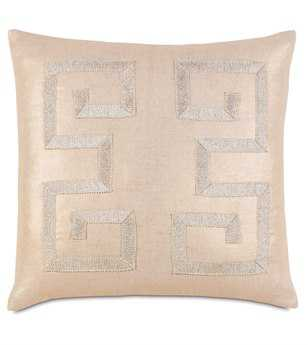 Eastern Accents Bardot Reflection Gold With Gimp Pillow