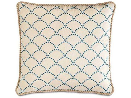 Eastern Accents Badu Brooklyn Lapis with Cord Accent Pillow