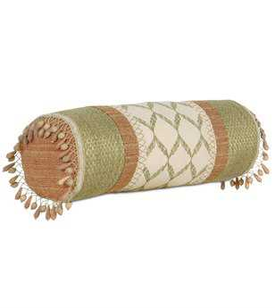 Eastern Accents Caicos Bartow Palm Insert Bolster Pillow