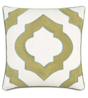 Eastern Accents Bradshaw Filly White Hand-Painted Pillow
