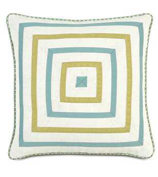 Eastern Accents Bradshaw Filly White Mitered Pillow