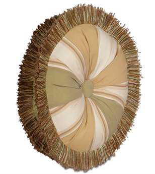 Eastern Accents Caicos Doral Meadow Tambourine Pillow