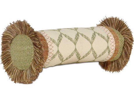 Eastern Accents Caicos Bartow Palm Insert Neckroll Pillow
