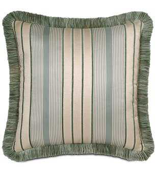 Eastern Accents Carlyle Luxembourgh Spa With Brush Fringe Pillow