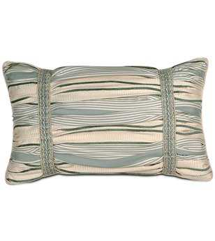 Eastern Accents Carlyle Luxembourgh Spa Ruched Pillow